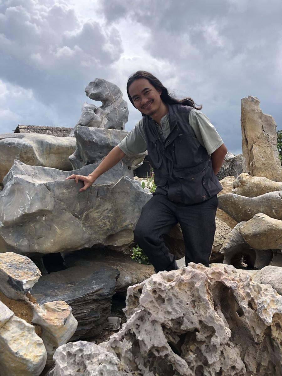 Thi công hồ cá Koi Anh Nam Cồn Khương-Cần Thơ