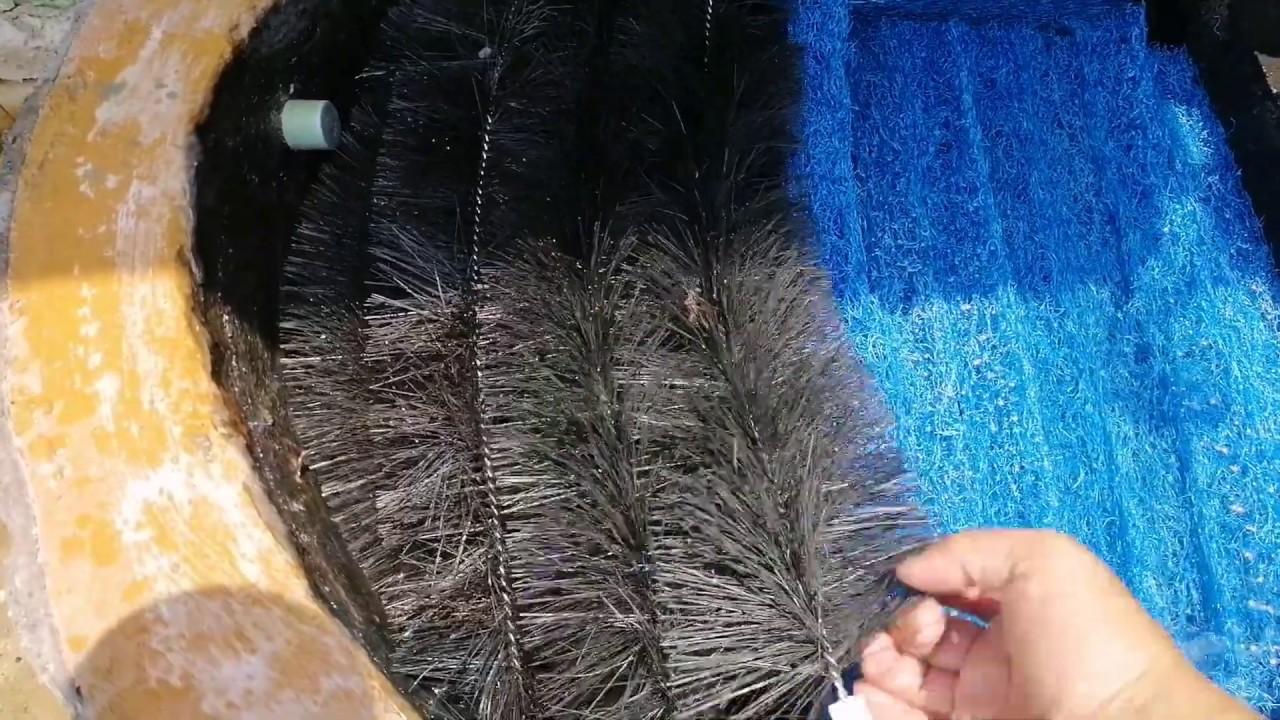 Chổi Lọc hồ cá koi 40cm- 60cm – 80cm – 100cm -120cm cho ngăn lắng – xử lý nước hồ cá koi