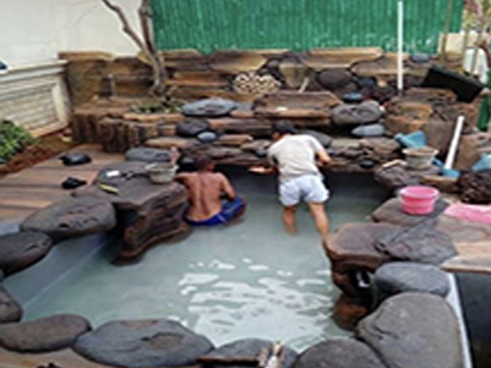 Báo giá thi công hồ cá Koi khu Phan thiết Bình Thuận