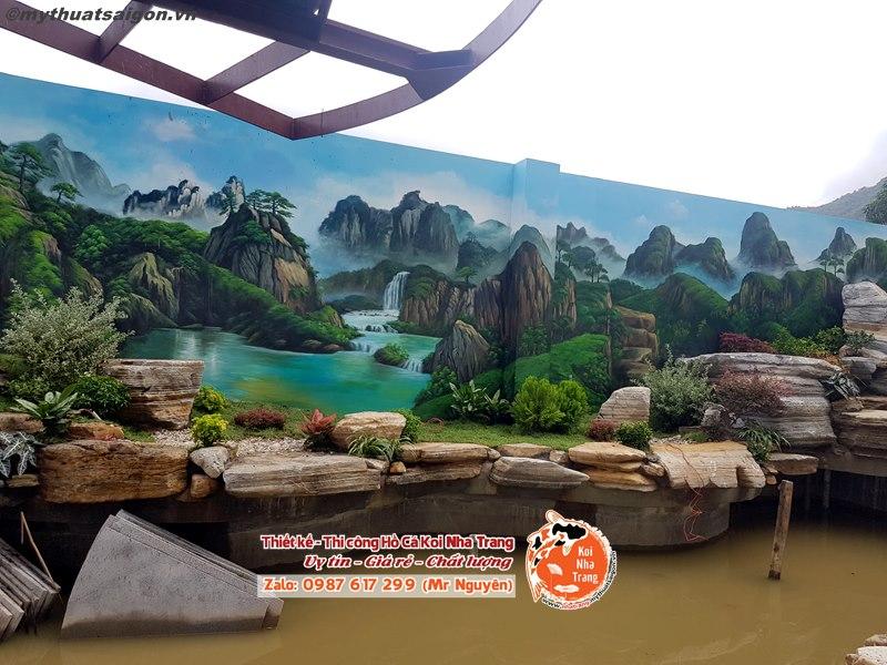 Thiết kế hồ cá Koi ngoài trời mang lại lợi ích gì cho căn hộ khu đô thị du lịch Hoàng Long ở Nha Trang nhà bạn?