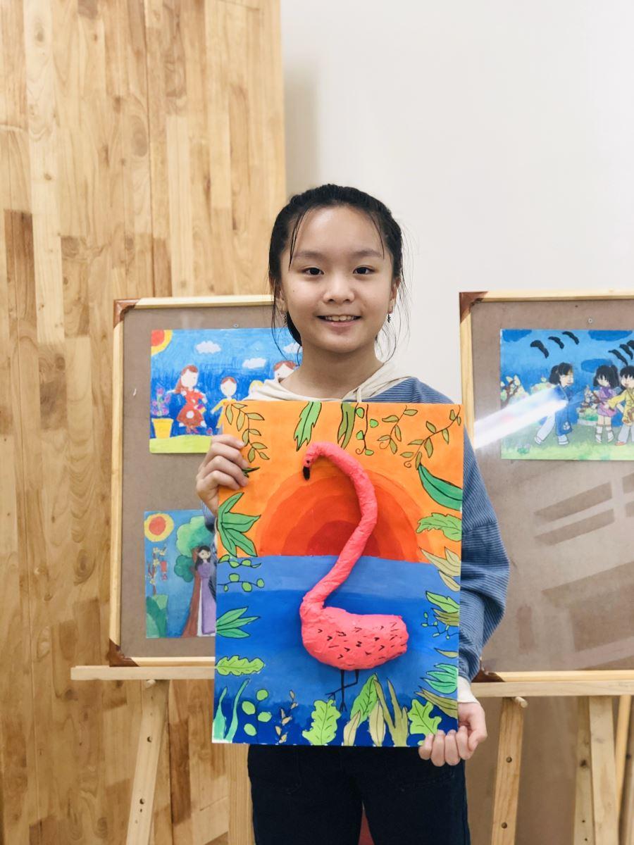 Lớp học vẽ Tại Nha Trang